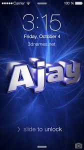 preview of plasma for name ajay