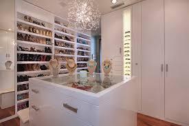 jewelry armoirein closet contemporary
