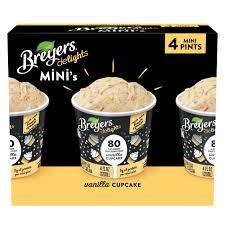 80 calorie mini tubs of ice cream