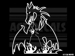 Dragon Car Laptop Vinyl Decal Sticker Maleficent Sleeping Beauty