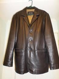 mens leather jacket wilsons pelle