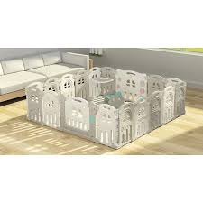Twinkle 12 2 Panel Foldable Play Fence With Table And Chair Plus Free Mat Shopee Philippines