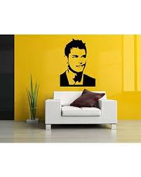 Score Big Savings On Wall Sticker Famous Football Player Man Sport Vinyl Mural Decal Art Decor Eh3131