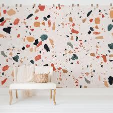 Terrazzo Design Wall Mural Livettes