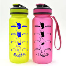 Unicorn Water Bottle Decal Hydration Label Decal Unicorn Decal Water Measurement Decal Custom Label Custom Sticker Sweet Diva Mj