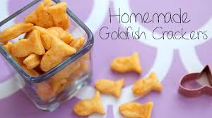 how to make goldfish ers at home