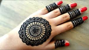 simple wali mehndi design