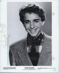 Amazon.com: Historic Images 1985 Press Photo Actor Ilan Mitchell-Smith  Starring in Wierd Science Film: Photographs