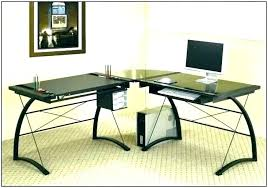 glass l shaped office desk zeitraum15 org
