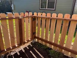 This Is A Wood Semi Privacy Fence The White Wolf Fencing Facebook