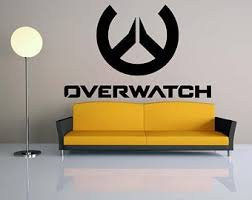 Overwatch Wall Decal Etsy