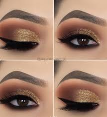 15 alluring golden smokey eye makeup