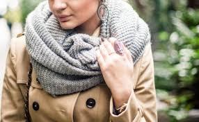 Cachecol de tricô: 40 modelos e tutoriais para passar o inverno ...
