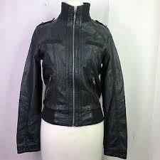 xhilaration target black faux leather