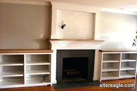 side shelves mantel pieces wood gas