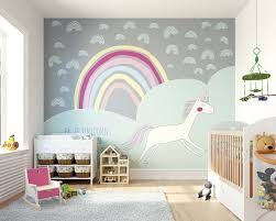 Sparkling Rainbow Vinyl Decal Kids Baby Room Art Sticker Nursery Room Mural