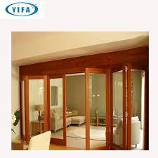 folding exterior shutters wooden color
