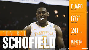 2019 NBA draft profile: Admiral Schofield can add physicality, toughness,  but also shooting to Sixers' bench | RSN