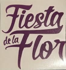Selena Quintanilla Fiesta De La Flor Logo Vinyl Decal S