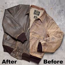 sporty s leather jacket cleaning from