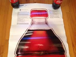 Coca Cola Grip Bottle Wall Decal 66 X 22 1814132995