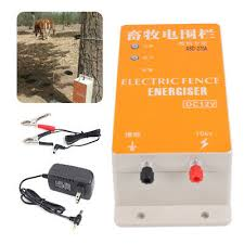 Electric Fence Energizer Charger High Voltage Pulse Electric Fencing Controller Ebay