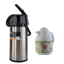 Phích đựng nước nóng Rạng Đông RD2545 ST1.E + Tặng kèm bình trà giữ nhiệt  RD1055 TS - Bình thủy giữ nhiệt không điện