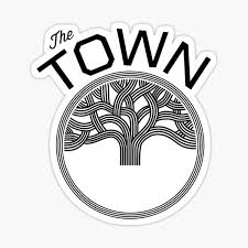 The Town Oakland Sticker By Melvaugh Redbubble