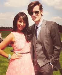 Matt Smith and his sister Laura Jayne Smith...Such a pretty pair ...