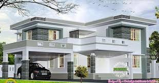 2875 square feet flat roof home in 2020