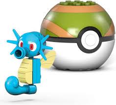 Pokemon Mega Construx Horsea Set Mattel - ToyWiz