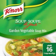 soup du jour mix garden vegetable