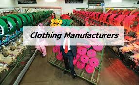 clothing manufacturers in india