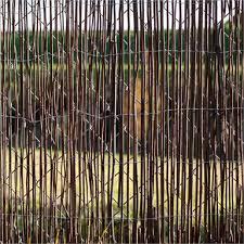 Scape 3 0 X 1 8m Black Fernwood Screen Fencing Bunnings Warehouse