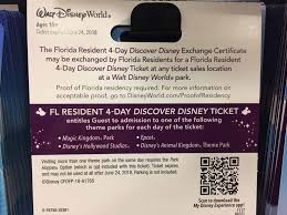 disney world tickets now available at