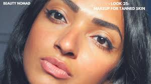 makeup for tanned skin tutorial
