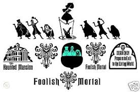 Haunted Mansion 9 Sticker Lot Vinyl Decal Car Decal 56819033