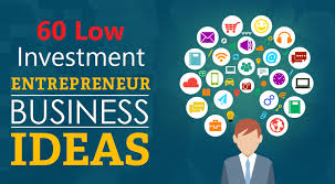 60 low investment business ideas कम
