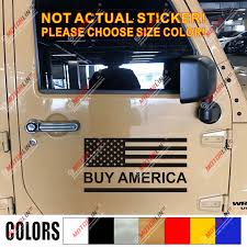 Buy America Made In The Usa American Flag Decal Sticker Car Vinyl Donald Trump Car Stickers Aliexpress