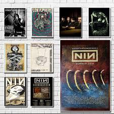 Decal Vinyl Truck Car Sticker Music Rock Bands Nine Inch Nails