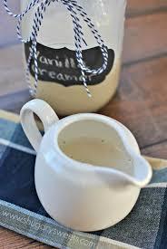 french vanilla coffee creamer shugary