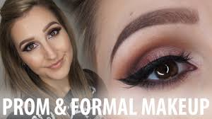 prom formal makeup for brown eyes