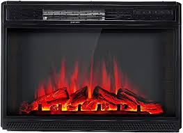 amerlife electric fireplace insert