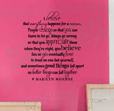 Marilyn Monroe Wall Quote 2 Quotes