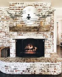 brick fireplace living room decor ideas