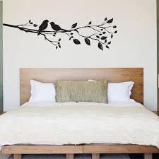 Birds On A Branch Wall Decal Birds Wall Sticker Etsy