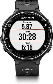 Amazon.com: Garmin Forerunner 235, GPS Running Watch, Black/Gray