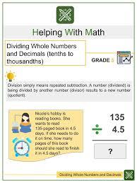 algebra worksheet division equations