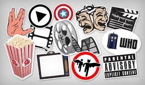Tv Movie Stickers Stickeryou Products Stickeryou