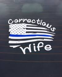 Corrections Wife Decal Correctional Officer Humor Correctional Officer Wife Correctional Officer